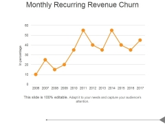 Monthly Recurring Revenue Churn Ppt PowerPoint Presentation Images