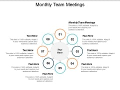 Monthly Team Meetings Ppt PowerPoint Presentation Outline Background Image Cpb