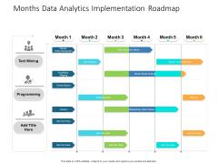 Months Data Analytics Implementation Roadmap Structure