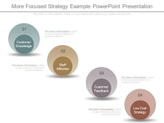 More Focused Strategy Example Powerpoint Presentation