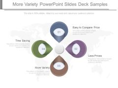 More Variety Powerpoint Slides Deck Samples