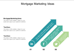 Mortgage Marketing Ideas Ppt PowerPoint Presentation Layouts Layout Ideas Cpb