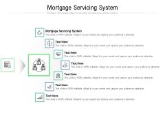 Mortgage Servicing System Ppt PowerPoint Presentation Slides Maker Cpb Pdf