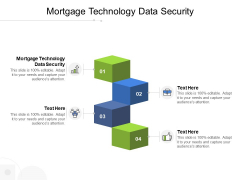 Mortgage Technology Data Security Ppt PowerPoint Presentation Professional Infographic Template Cpb Pdf