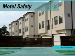 Motel Safety Computers Operator Ppt PowerPoint Presentation Complete Deck