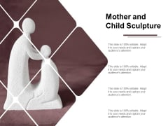 Mother And Child Sculpture Ppt PowerPoint Presentation Inspiration Templates
