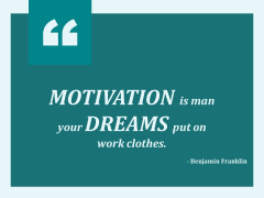Motivation Is Man Your Dreams Put On Work Clothes Ppt PowerPoint Presentation Summary Graphics
