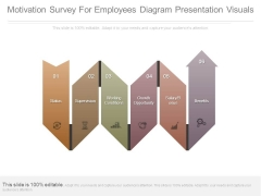Motivation Survey For Employees Diagram Presentation Visuals
