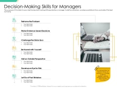 Motivation Theories And Leadership Management Decision Making Skills For Managers Microsoft PDF