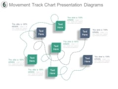 Movement Track Chart Presentation Diagrams