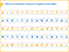 Movie Production Proposal Template Icons Slide Icons PDF