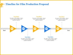 Movie Production Proposal Template Timeline For Film Production Proposal Pictures PDF