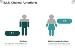 Multi Channel Advertising Ppt PowerPoint Presentation Show Brochure Cpb