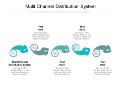 Multi Channel Distribution System Ppt PowerPoint Presentation Layouts Templates Cpb