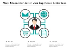Multi Channel For Better User Experience Vector Icon Ppt PowerPoint Presentation File Graphics Design PDF
