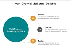 Multi Channel Marketing Statistics Ppt PowerPoint Presentation Pictures Designs Cpb