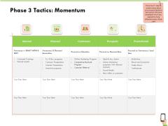 Multi Channel Online Commerce Phase 3 Tactics Momentum Structure PDF
