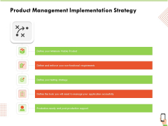 Multi Channel Online Commerce Product Management Implementation Strategy Information PDF