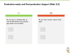 Multi Channel Online Commerce Production Ready And Post Production Support Version Guidelines PDF