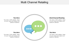 Multi Channel Retailing Ppt Powerpoint Presentation Icon Graphic Tips Cpb