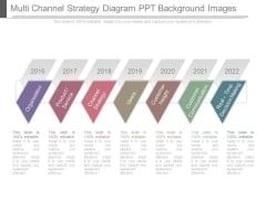 Multi Channel Strategy Diagram Ppt Background Images