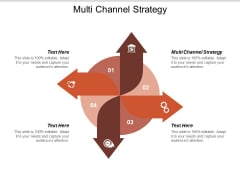 Multi Channel Strategy Ppt PowerPoint Presentation Diagram Templates Cpb