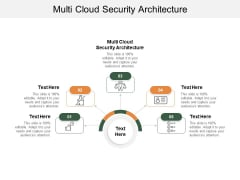 Multi Cloud Security Architecture Ppt PowerPoint Presentation Inspiration Images Cpb