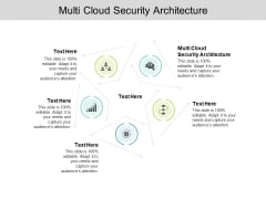 Multi Cloud Security Architecture Ppt PowerPoint Presentation Pictures Maker Cpb