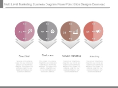 Multi Level Marketing Business Diagram Powerpoint Slide Designs Download