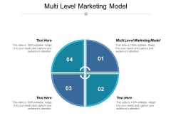 Multi Level Marketing Model Ppt PowerPoint Presentation Model Backgrounds