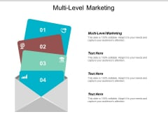 Multi Level Marketing Ppt PowerPoint Presentation Icon Ideas Cpb