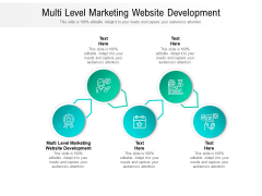 Multi Level Marketing Website Development Ppt PowerPoint Presentation File Slide Portrait Cpb Pdf