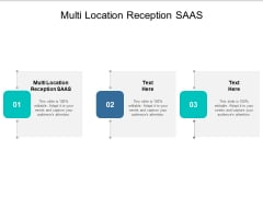 Multi Location Reception SAAS Ppt PowerPoint Presentation Model Show Cpb