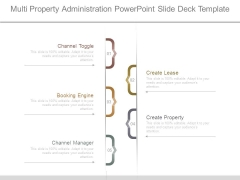 Multi Property Administration Powerpoint Slide Deck Template