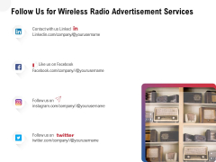 Multi Radio Waves Follow Us For Wireless Radio Advertisement Services Rules PDF