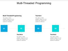 Multi Threaded Programming Ppt PowerPoint Presentation Portfolio Clipart Images Cpb