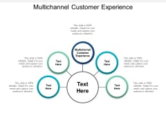 Multichannel Customer Experience Ppt PowerPoint Presentation Outline Pictures Cpb