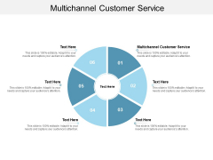 Multichannel Customer Service Ppt PowerPoint Presentation Infographics Influencers Cpb