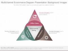 Multichannel Ecommerce Diagram Presentation Background Images