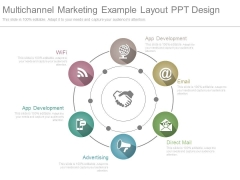 Multichannel Marketing Example Layout Ppt Design