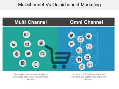 Multichannel Vs Omnichannel Marketing Ppt PowerPoint Presentation Professional Topics