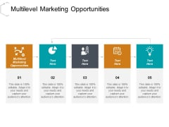 Multilevel Marketing Opportunities Ppt PowerPoint Presentation Pictures Slideshow