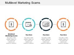 Multilevel Marketing Scams Ppt Powerpoint Presentation Inspiration Demonstration Cpb