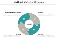 Multilevel Marketing Schemes Ppt PowerPoint Presentation Visual Aids Model Cpb