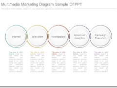 Multimedia Marketing Diagram Sample Of Ppt