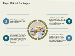Multinational Financial Crisis Major Bailout Packages Ppt Infographics Introduction PDF