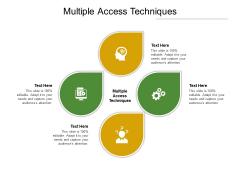 Multiple Access Techniques Ppt PowerPoint Presentation Summary Portrait Cpb