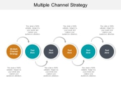 Multiple Channel Strategy Ppt PowerPoint Presentation Gallery Introduction Cpb