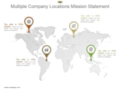 Multiple Company Locations Mission Statement Ppt Presentation