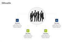 Multiple Phases For Supply Chain Management Silhouette Brochure PDF